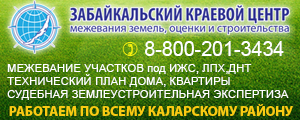 ЗабКрайЦентр Межевание